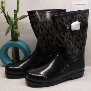 MICHAEL KORS wide wms rainboots (size 7)